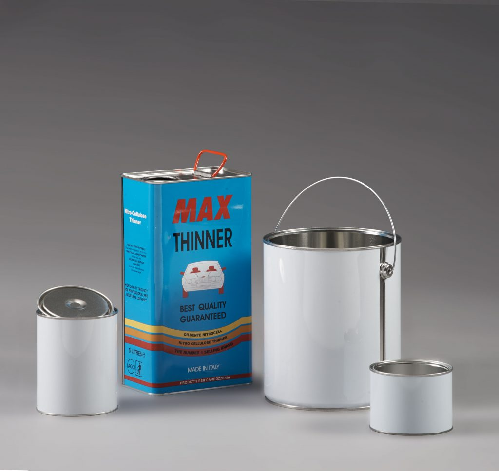 Accessories for metal containers